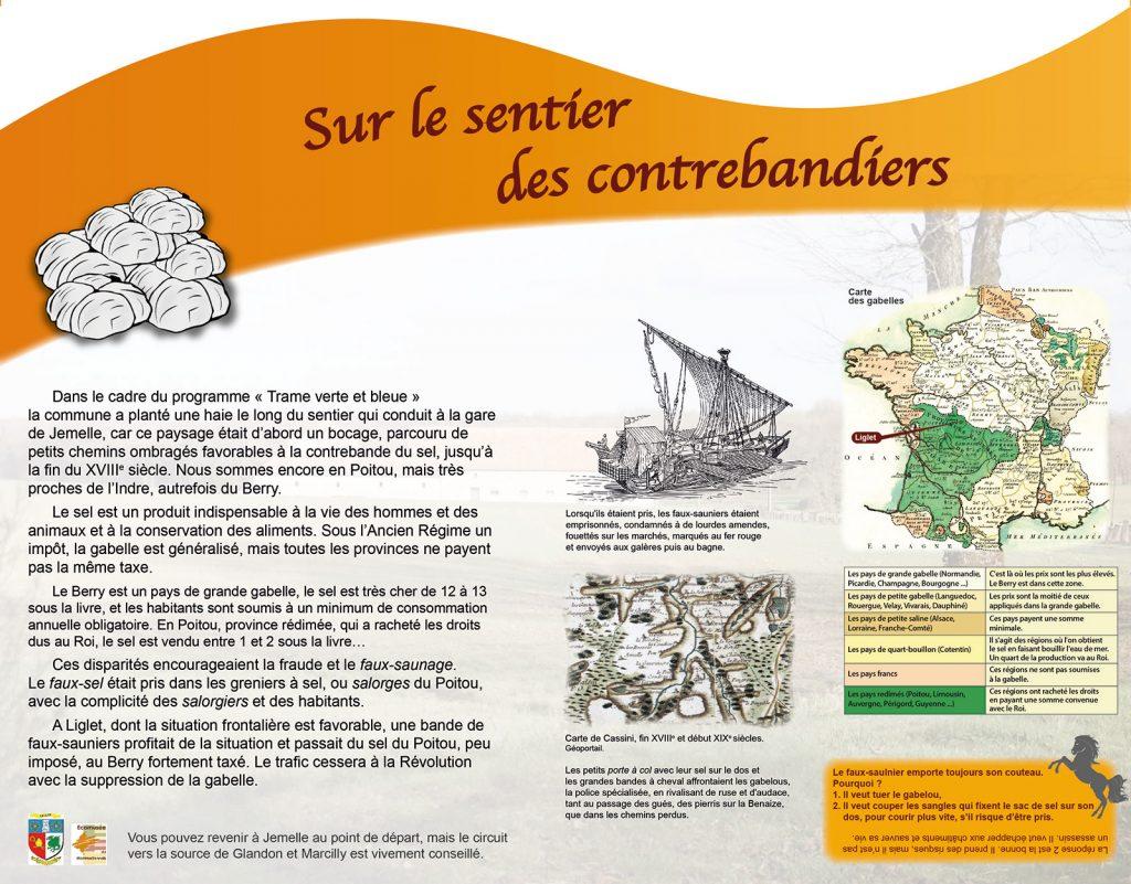 Voyages entre Poitou et Berry - Panneau 6