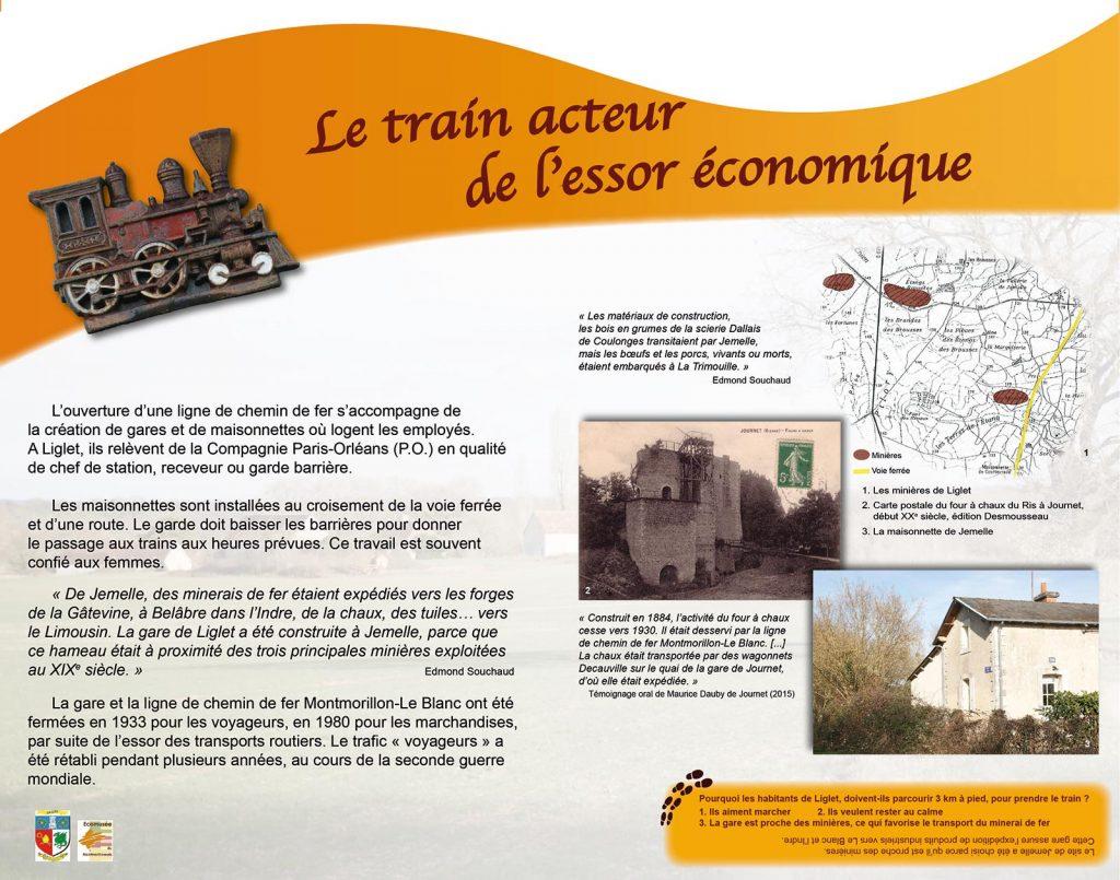 Voyages entre Poitou et Berry - Panneau 2
