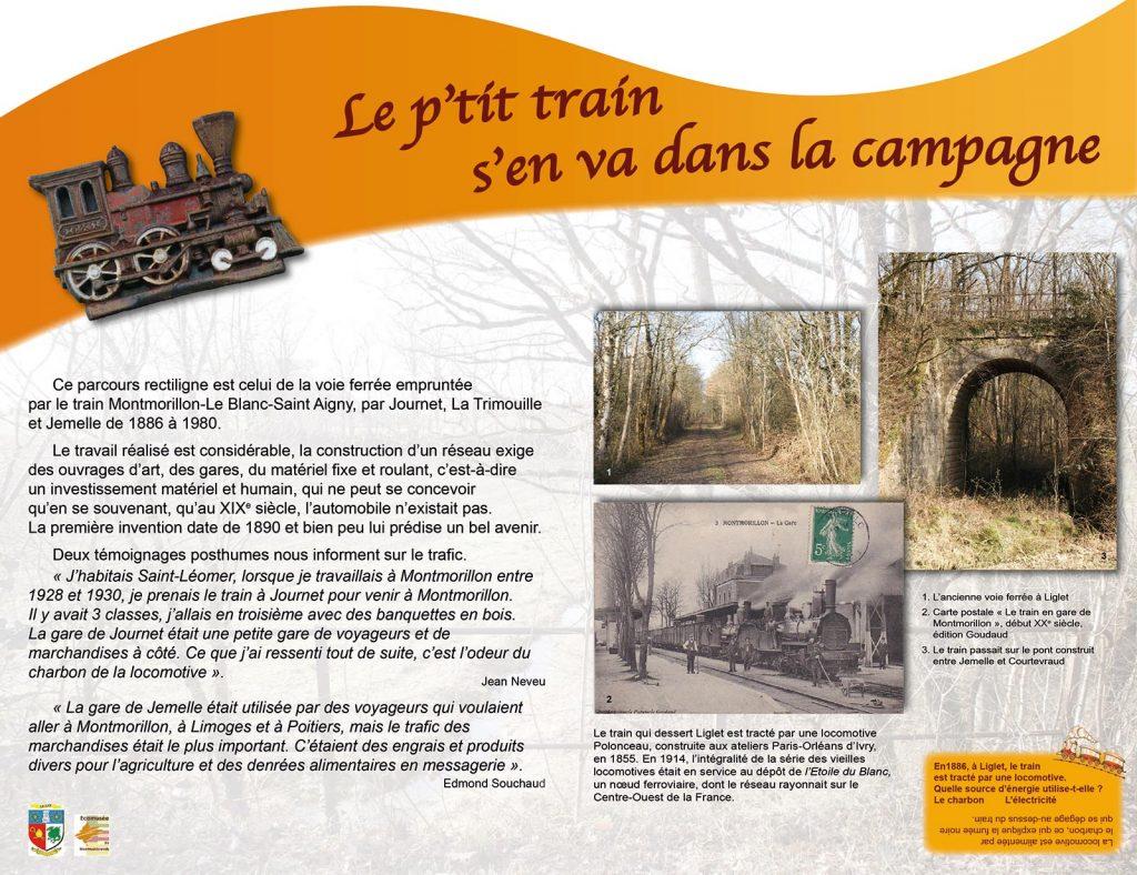 Voyages entre Poitou et Berry - Panneau 3